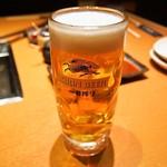 焼肉 玄 - 生ビール