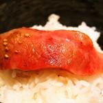 焼肉 玄 - 特選カルビ オンザライス