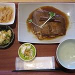 八海山みんなの社員食堂 - 八海定食(魚) 1000円
