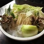 松茸屋魚松 - 野菜群