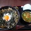 寄居パーキングエリア(下り)・スナックコーナー - 料理写真:しゃくし菜とろろ丼