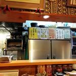 亀ちゃん - 店内(駐車場案内)