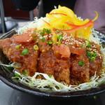 61066629 - 信州米豚トマトソースカツ丼