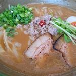 麺家 Shumen Doushi - 白湯みそSOBA 780円