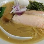 麺処 篠はら - 鯛白湯そば+味玉クーポン 850円