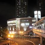 江戸前鮨と鶏 和暖 - JR・堺市駅 西口 スーパー以外は暗い。(笑)