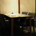 L'ajitto - 二階テーブル席