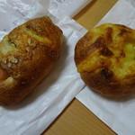 マインベッカー - ソーセージのパンと、チーズのパン
