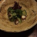 道乃来 - タコと胡瓜の酢の物