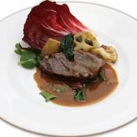 フェルマータ - 国産牛ほほ肉の赤ワイン煮込み 季節の野菜添え