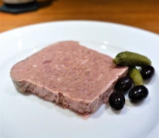 前芝料理店 - 田舎風 お肉のテリーヌ