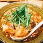 ごまめ家 - 酸辣湯麺(サンラータンメン)