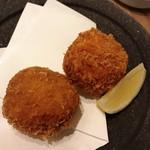 なきざかな - ずわい蟹クリームコロッケ