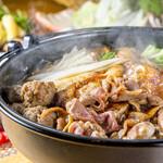 焼鳥 よつ葉 - 鴨すき鍋