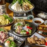 焼鳥 よつ葉 - 鶏鍋コース