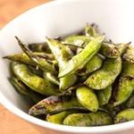 焼鳥 よつ葉 - 炙り枝豆