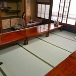 西陣 江戸川 - 2階席