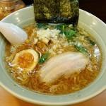 溝ノ口野郎 - 濃厚鶏ガラ煮干し醤油ラーメン700円