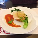 ル レーヴ - メイン: ポークフィレ肉のピタカ ミルフィーユ仕立て,