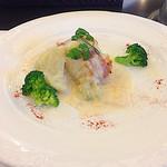 ル レーヴ - メイン:鱈のロースト 白菜と豆乳のソース