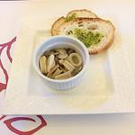 ル レーヴ -                   前菜2皿目 やりいかとキノコのペペロンチーノ風