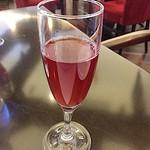 ル レーヴ - 食前酒 :(ノンアルコール)リンゴとザクロのソーダ