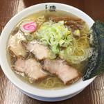 61079526 - ★★★★★ 煮干し中華そば,780円.麺大盛,ランチサービス.