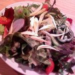 コチェリーノ - ランチのサラダ