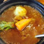 61080790 - 牛すじ野菜カレー