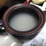一晴庵 - 蕎麦湯、絶品です