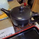 一晴庵 - 蕎麦湯