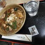 一晴庵 - かしわ蕎麦と黒七味