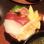 沖ちゃん - ミニ海鮮丼