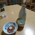 61083960 - 喜久泉とサービスの烏賊の塩辛