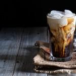 Cafe del Ibiza - オーダーが入ってからダブルエスプッレッソをシェイカーで急速に冷やして泡立てたアイスコーヒー