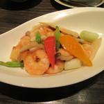 61085754 - 「海老と野菜の塩炒め」