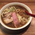 Menyashichisai - 喜多方らーめん(煮干)¥820-