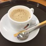 千葉市動物公園 森のレストラン - ホットコーヒー(^∇^)