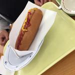千葉市動物公園 森のレストラン - ホットドッグ(^∇^)