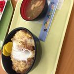 千葉市動物公園 森のレストラン - カツ丼(^∇^)