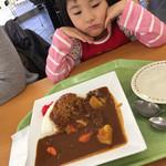 千葉市動物公園 森のレストラン - 特製カレー(^∇^)