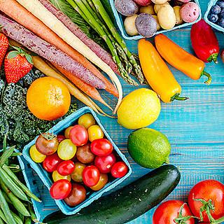 季節の国産食材を使用!目にも美味しい「珍しい野菜」も