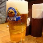 カフェ・トレイル&トラック - 生ビール