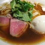 麺処 篠はら - 魚貝そば+味玉クーポン 900円