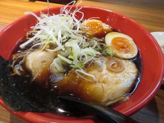 麺家 いろは CiC店 - 富山名物のブラックラーメンです♪