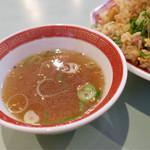 喜楽園 - スープがありがたい