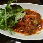LAPLACE SONO - 黒毛和牛頬肉の完熟トマト煮込み