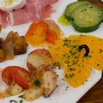 リカータ - 前菜盛りアップ