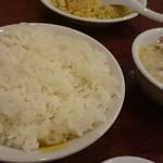 和福飯店 - ご飯とスープ