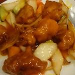 和福飯店 - 酢豚